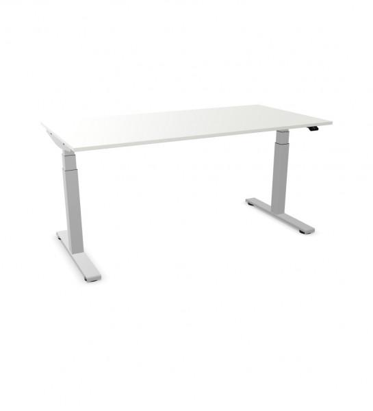 plain'desk Sitz-Stehtisch