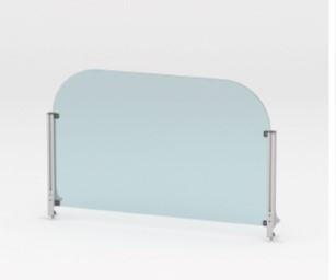 Tischaufsatzelement aus Plexiglas