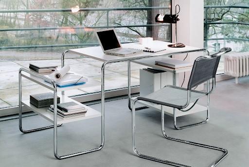 Thonet Stahlrohr Schreibtisch 285