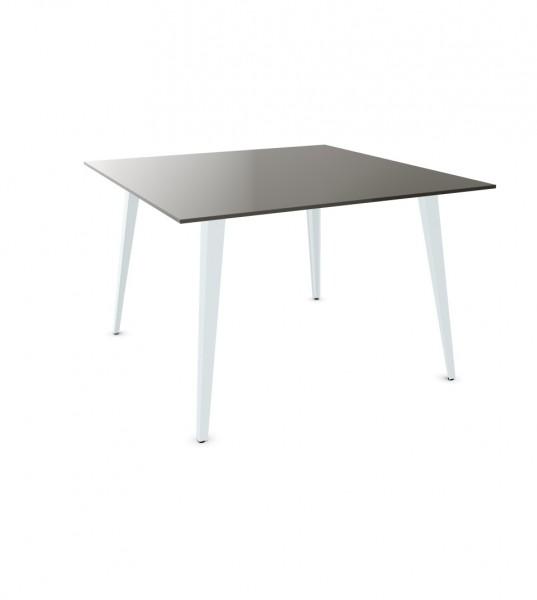 ergodata cone'desk Hochtisch quadratisch,
