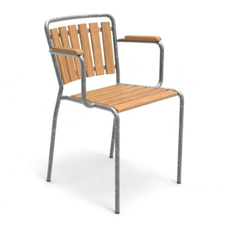 Haefeli Stuhl Modell 1021 mit Armlehnen