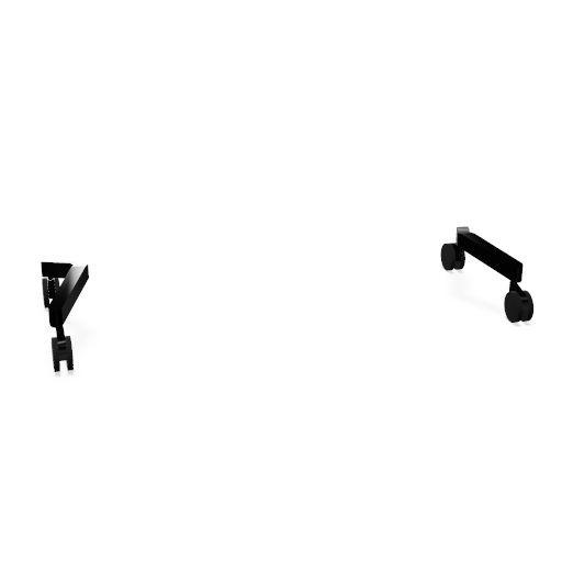 Mood Fabric Füße/ Rollen schwarz
