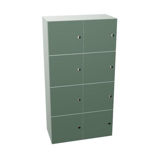 LO wood'lockers 80, 5HE, 8xFT 1HE, Socke