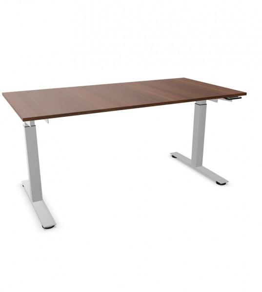 ergodata line'desk T-Fusstisch Sitz-Stehtisch