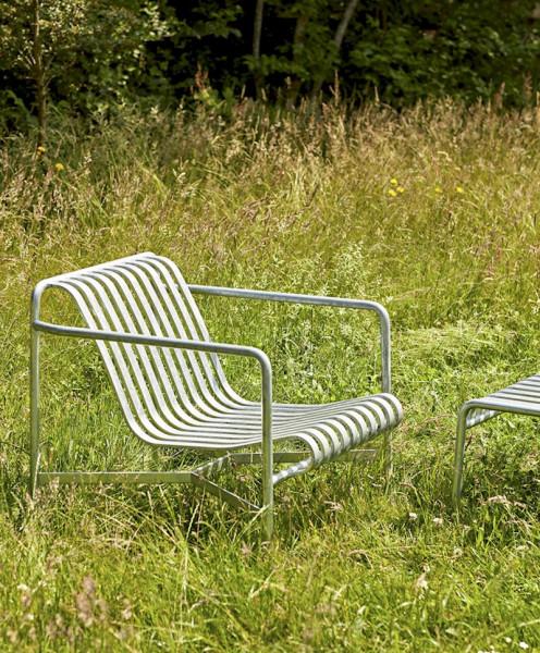 Palissade Lounge Chair Low Hot Galvanisiert