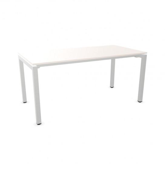 line'desk Vierfuss Tisch fixe Höhe
